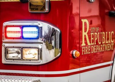 Republic fire truck