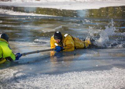 fireman ice training